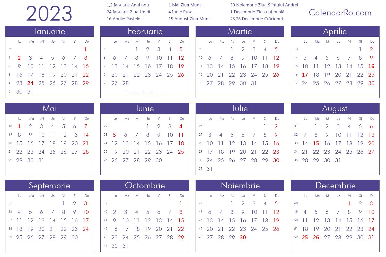 Calendar 2023